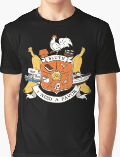 Bluth Family Crest Graphic T-Shirt