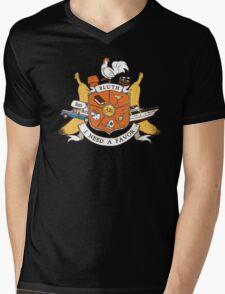Bluth Family Crest Mens V-Neck T-Shirt