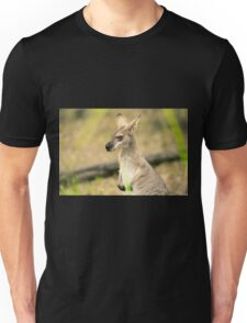 Wallaby outside by itself Unisex T-Shirt