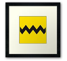 Charlie Brown Tee Framed Print