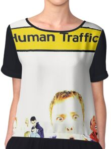 Human Traffic Chiffon Top