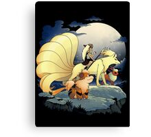 Canidae Princess Canvas Print