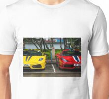 Ferrari 430 Scuderia & 458 Speciale  Unisex T-Shirt