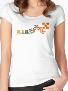 The Name Game - Julie Women's Fitted Scoop T-Shirt