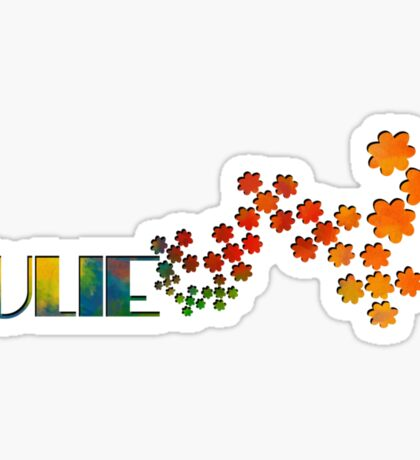 The Name Game - Julie Sticker