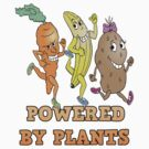 POWERED BY PLANTS!!  PLANT BASED DIET by ANIMAL WELFARE  CARTOONS NRT