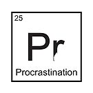 The Element of Procrastination by StewNor
