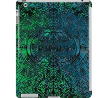 Green and Blue scatter symmetry  iPad Case/Skin