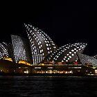 I Spot Sails - Sydney Vivid Festival by Bryan Freeman
