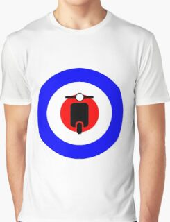Scooter target - Mods Graphic T-Shirt