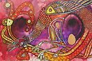 Prancing Bird by Lynnette Shelley
