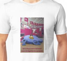 Stuck in the supermarket queue Unisex T-Shirt