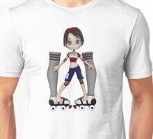 Sarah the Skater Unisex T-Shirt