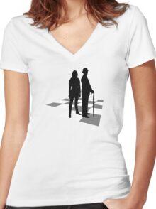 The avengers Women's Fitted V-Neck T-Shirt