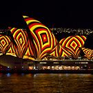 Square Sails - Sydney Opera House - Vivid Sydney by Bryan Freeman