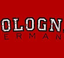Cologne Germany Vintage (Schwarz/Weiß) by theshirtshops