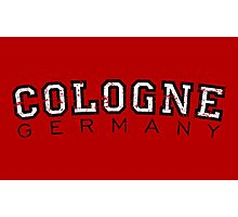 Cologne Germany Vintage (Schwarz/Weiß) Photographic Print
