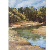 Lake Cathie - plein air Photographic Print
