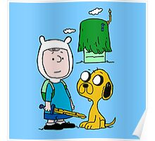 Peanuts Time Poster