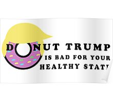 Donut Trump Poster