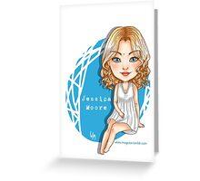 Jessica Moore - Supernatural Chibi Greeting Card
