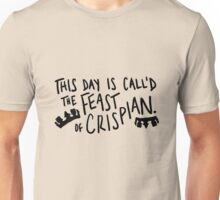 St. Crispin's Day Unisex T-Shirt