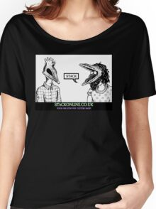 STACK Beetlejuice Logo Women's Relaxed Fit T-Shirt