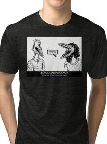 STACK Beetlejuice Logo Tri-blend T-Shirt