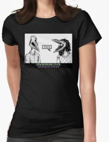 STACK Beetlejuice Logo Womens Fitted T-Shirt