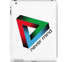 Nevermind delta iPad Case/Skin