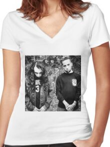 Suicideboys - $B  Women's Fitted V-Neck T-Shirt