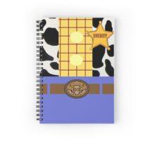 Minimalistic Woody Design Spiral Notebook