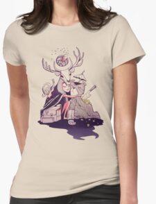Deer & Teddy Womens Fitted T-Shirt