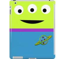 Minimalistic Alien Design iPad Case/Skin