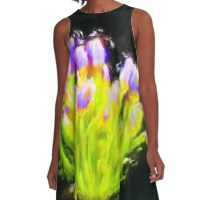 Baby Agapanthus A-Line Dress