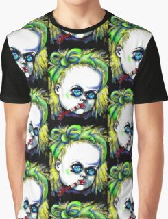 Halloween horror Dolly Graphic T-Shirt