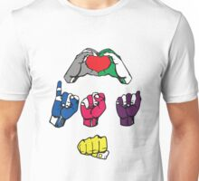 Love is a Fist v2 Unisex T-Shirt