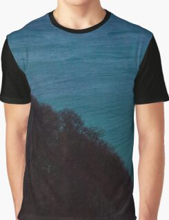 Half half Graphic T-Shirt