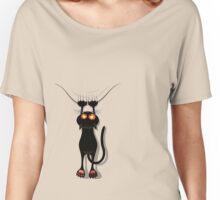 cat cute Women's Relaxed Fit T-Shirt