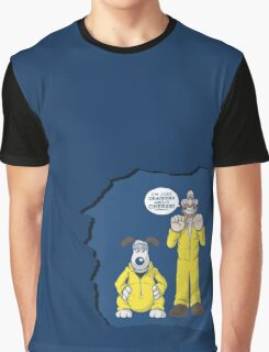 BREAKING BAD & WALLACE AND GROMIT MASHUP Graphic T-Shirt