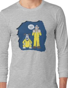 BREAKING BAD & WALLACE AND GROMIT MASHUP Long Sleeve T-Shirt