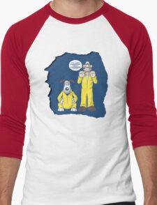 BREAKING BAD & WALLACE AND GROMIT MASHUP Men's Baseball ¾ T-Shirt