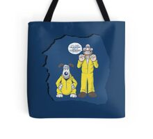 BREAKING BAD & WALLACE AND GROMIT MASHUP Tote Bag