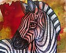 Curious Zebra by Lynnette Shelley