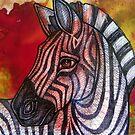 Curious Zebra by Lynnette Shelley