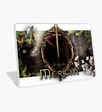 Merlin logo Laptop Skin