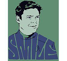 Bones McCoy Smiles in Beyond!! (aos) Photographic Print