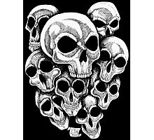 Skullz Photographic Print
