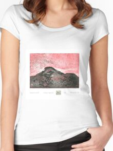 Mountain Run Women's Fitted Scoop T-Shirt