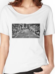 Melbourne Alley Women's Relaxed Fit T-Shirt